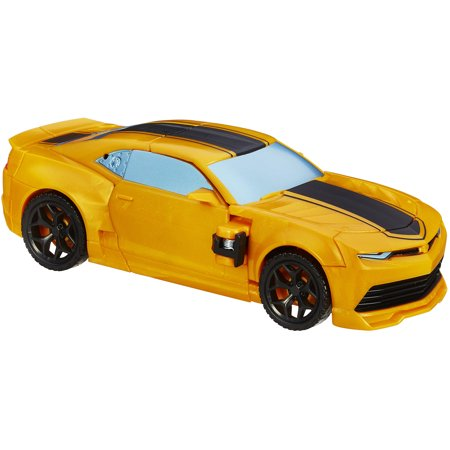 transformers age of extinction flip and change bumblebee figure. Black Bedroom Furniture Sets. Home Design Ideas