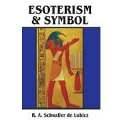 Esoterism and Symbol (Paperback)