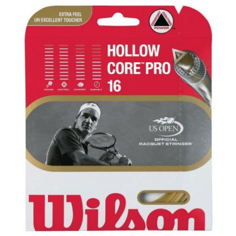 Wilson Tennis String Hollow Core Pro 16 Us Open Official Racquet Stringer