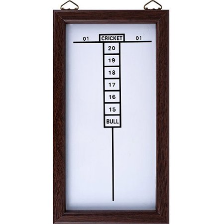 Trademark Games Dry Erase Dart/Cricket Scoreboard, Black