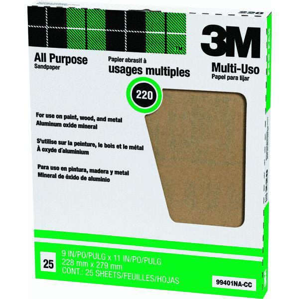 3M All Purpose Production Sandpaper