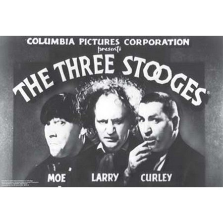 Three Stooges Opening Credits Poster Print (36 x 24) - Halloween 3 Opening Credits