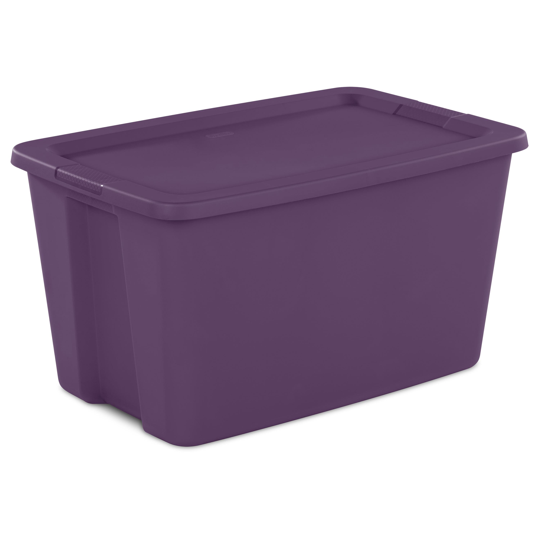 Sterilite, 30 Gal./114 L Tote Box, Moda Purple