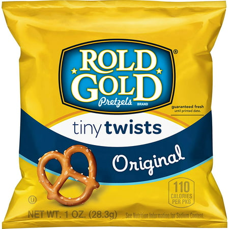 Rold Gold Tiny Twists Pretzels, 1 oz Bags, 40