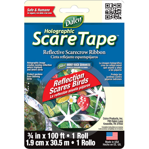 Gardeneer Holographic Scare Tape (Set of 12)