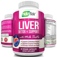 Liver cleanse walmart nutriflair liver support and detox supplement max strength liver cleanse detox formula with milk thistle malvernweather Image collections
