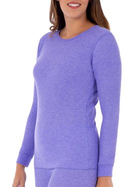 d5ced610eeb4 Product Image Women s and Women s Plus Waffle Thermal Underwear Crew Top