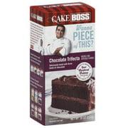 Cake Boss Chocolate Trifecta Premium Cak