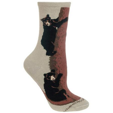 Wheel House Designs - Climbing Bear Socks - 10-13 (Climbing Socks)