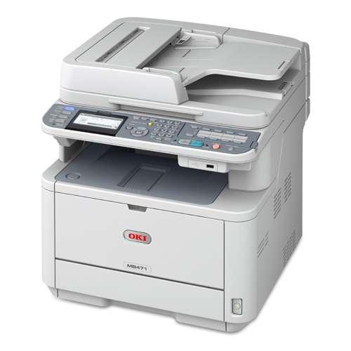Okidata 62438701 MB471 MFP Multifunction Laser Printer, Copy/Fax/Print/Scan