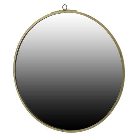 Areo Home Althea Round Mirror - Bellacor Brass Mirror