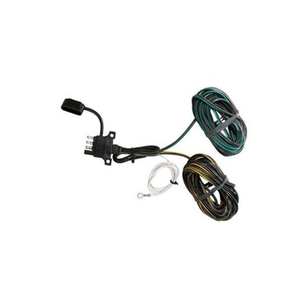Husky Towing HUS-30496 4 Wire Flat Trailer End with Y