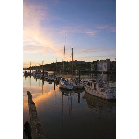 River Suir From Millenium Plaza Waterford City Ireland Canvas Art - The Irish Image Collection  Design Pics (11 x (Prada City)