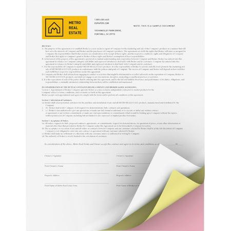 Xerox, XER3R12424, Bold Digital 3-part Reverse Carbonless Paper, 5010 / Carton, - Premium Digital Carbonless Paper