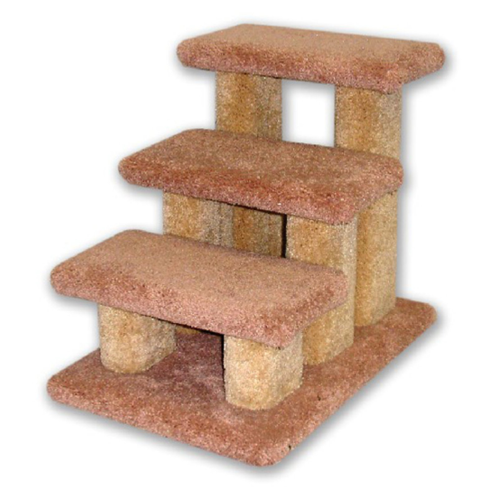 Beatrise Carpeted Pet Steps