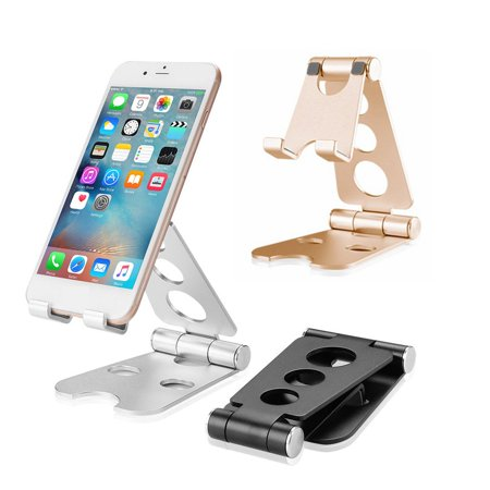 Multifunctional Small Size Universal Aluminum Alloy Tablets Smartphone Stand - image 1 de 6