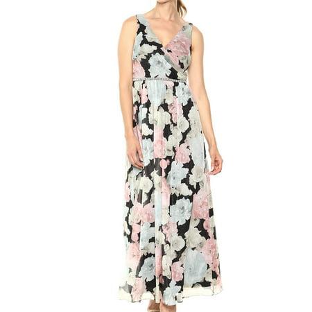 - SL Fashions Womens Embellished Floral Sheath Dress