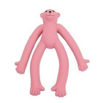 Coastal Pet Products DCP83157 Latex Rascals Long Legged Monkey Dog Toy, 11-Inch, Pink