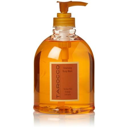 Baronessa Cali Tarocco Blood Orange Cleansing Body Wash, 16.9 Fl Oz
