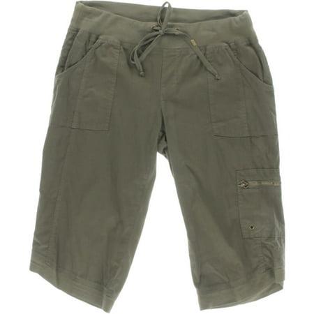 81a1488e6 XCVI - XCVI Womens Cassia Deep Pocket Drawstring Bermuda Shorts -  Walmart.com