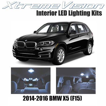 Xtremevision Led For Bmw X5  F15  2014 2016  17 Pieces  Cool White Premium Interior Led Kit Package   Installation Tool