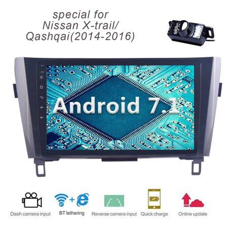 Android 7 1 Quad Core 1GB 16GB Car Stereo Bluetooth Car Radio 10 1 Inch  Capacitive touch screen Autoradio Head Unit GPS Navigation Support  Bluetooth