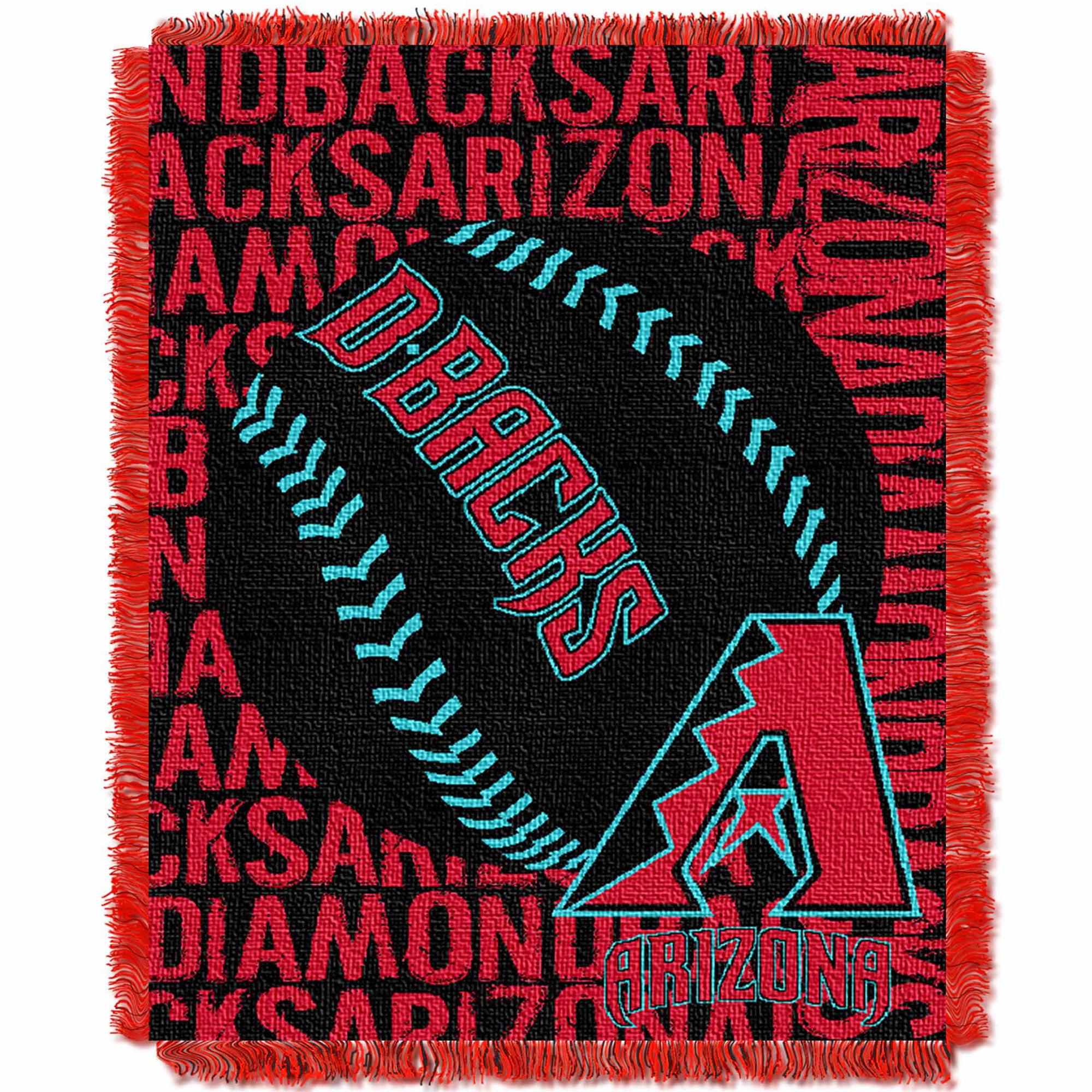 Arizona Diamondbacks The Northwest Company 46'' x 60'' Double Play Jacquard Throw - No Size