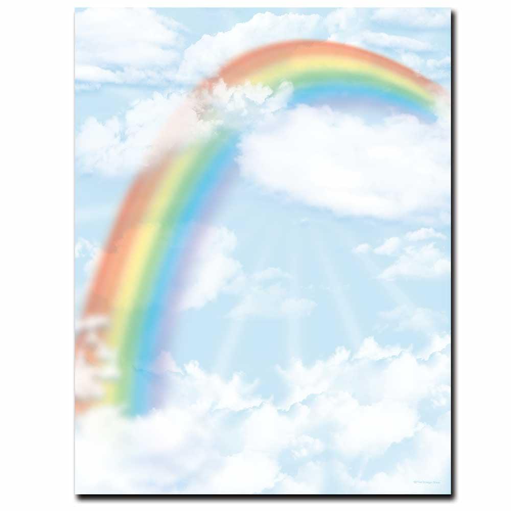 Over the Rainbow Letterhead Laser & Inkjet Printer Paper