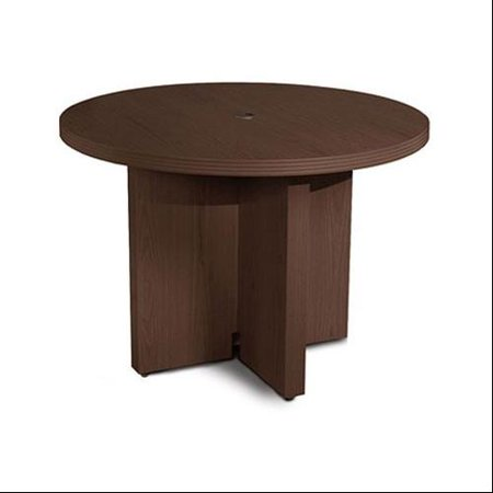 Aberdeen 42 inch mocha round conference table for Table 430 52
