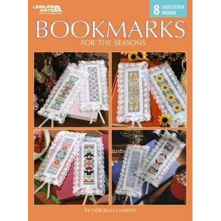 Bookmarks for the Seasons : 8 Cross Stitch Designs, Paperback by Lambein, - Halloween Cross Stitch Bookmark