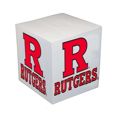 - Rutgers Scarlet Knights Sticky Note Memo Cube - 550 Sheets
