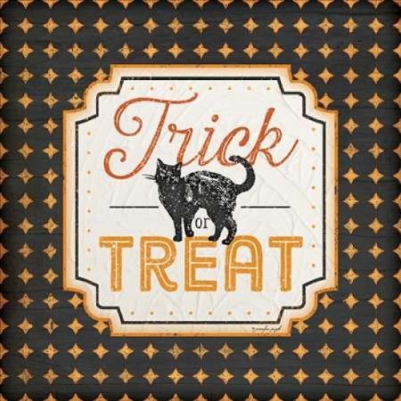 Halloween - Trick or Treat Poster Print by Jennifer Pugh](Trick Or Treat Halloween Posters)