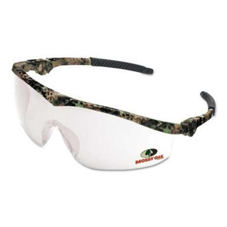 Mossy Oak Safety Glasses, Clear Lens, Anti-Scratch, Camouflage - Glass Safety Frame