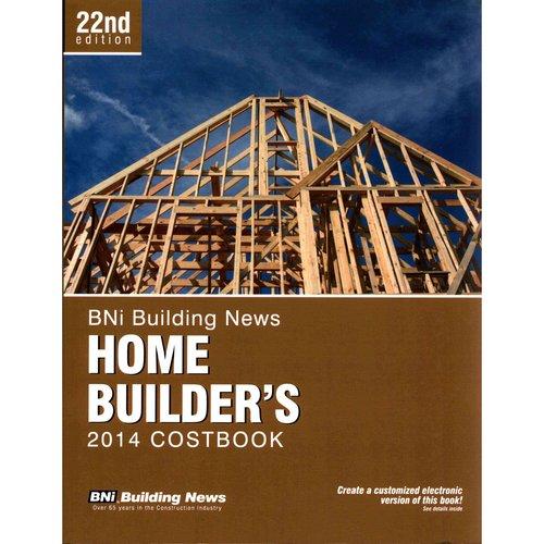 BNI Building News Home Builder's Costbook 2014