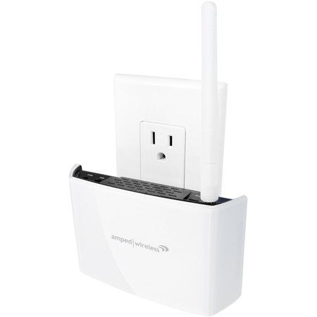 High Power Compact 802.11ac Wi-Fi Range Extender - Amped Wireless REC15A