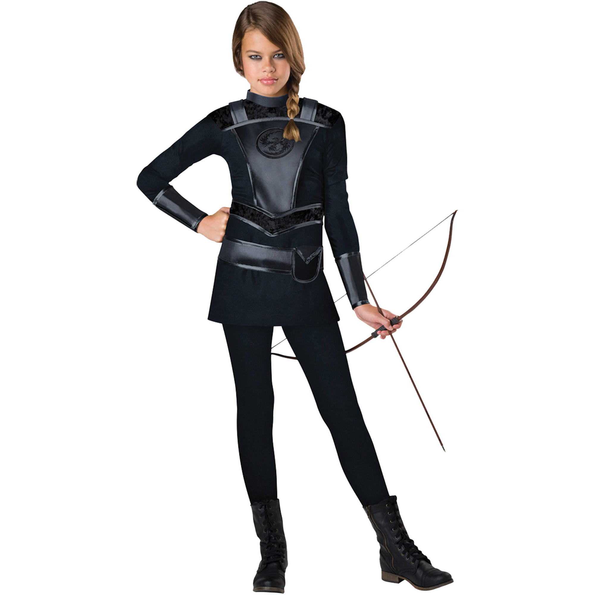 Warrior Huntress Teens Halloween Costume - Walmart.com