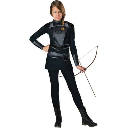 Warrior Huntress Teens Halloween Costume](Hooded Huntress Child Costume)