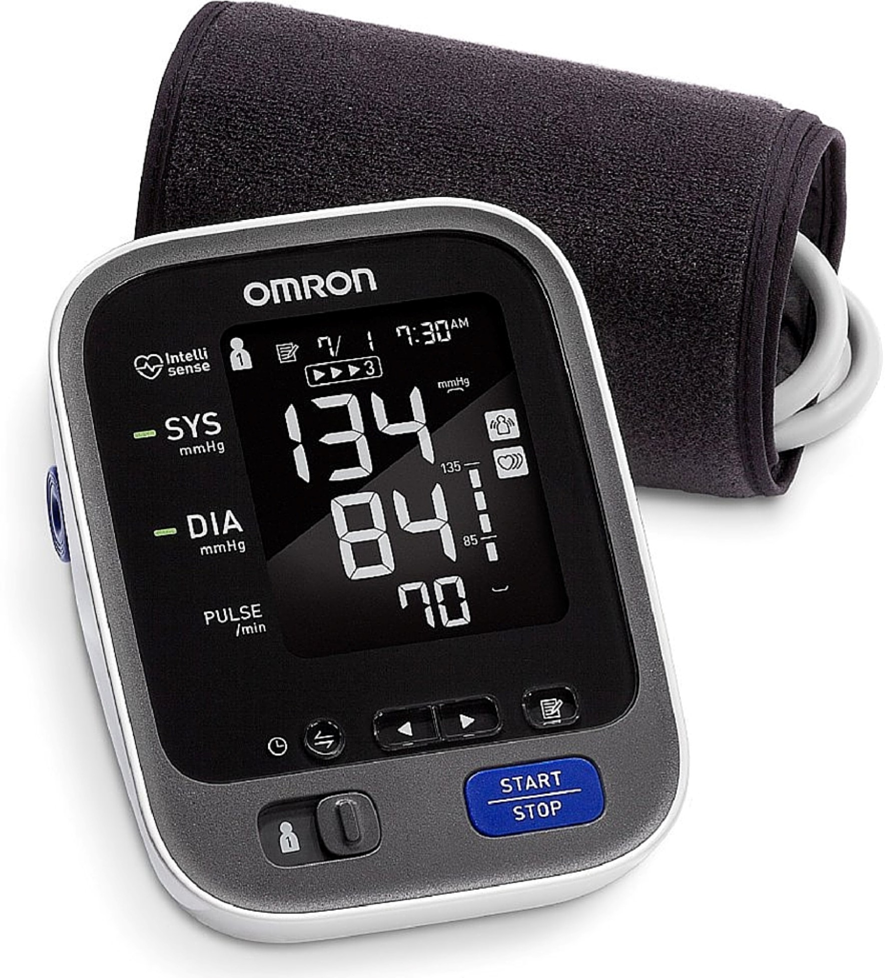 Omron 10 Series Upper Arm Blood Pressure Monitor with Bluetooth 1 ea (Pack of 4)