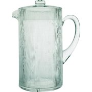 PITCHER TAPESTRY CLEAR