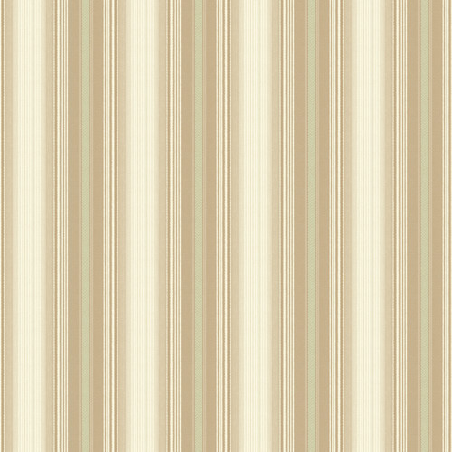 Brewster Home Fashions Springtime Cottage 33' x 20.5'' Stripes 3D Embossed Wallpaper