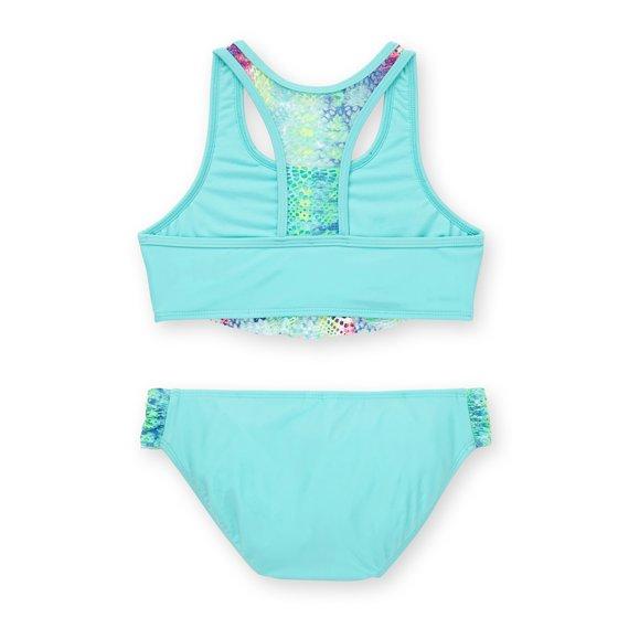 ddd32b819a Wonder Nation - Girls' Remix Tie Dye Fashion Bikini - Walmart.com
