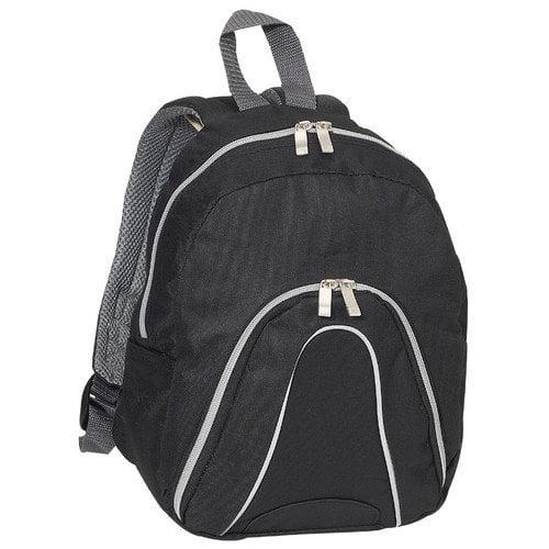 everest posh junior backpack, black, one size