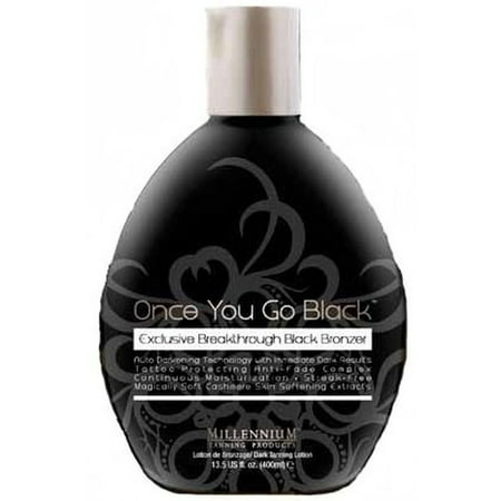 Once You Go Black Bronzer Tanning Lotion By Millennium 13.3 (Best Indoor Tanning Lotion Without Bronzer)