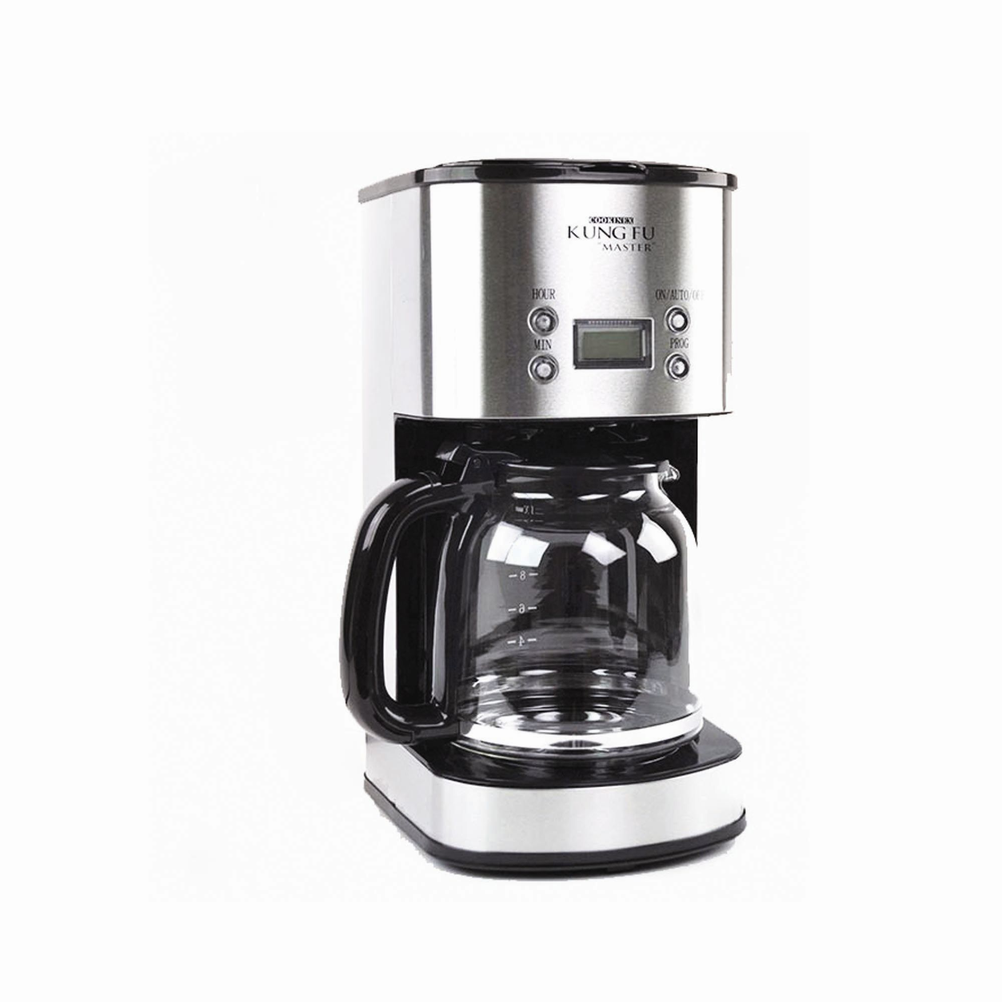 Kung Fu Master KF2000 12 Cup Stainless Steel Coffee Maker...