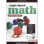 Light Speed Math: Fractions & Decimals by GOLDHIL HOME MEDIA INT L
