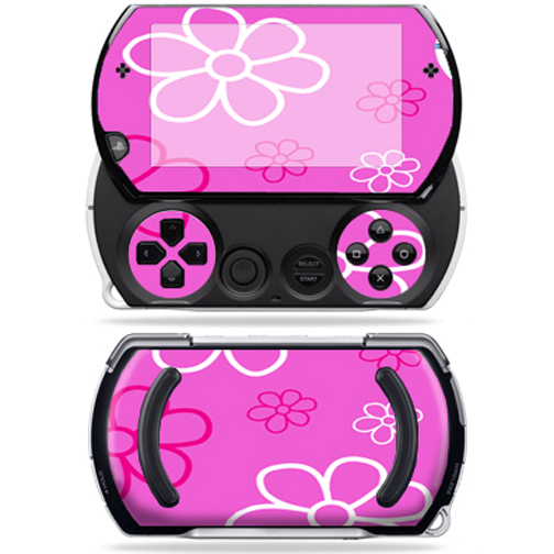 Mightyskins Protective Vinyl Skin Decal Cover for Sony PSP Go System wrap sticker skins Flower Power