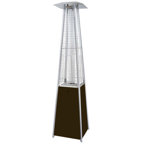Hiland Stainless Steel Glass Tube Patio Heater   Walmart.com