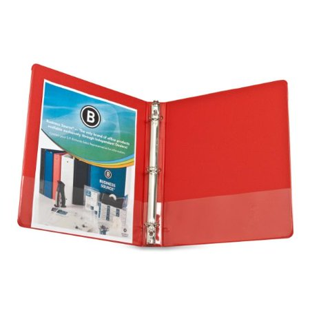 Business Source Basic Round Ring Binders - 1