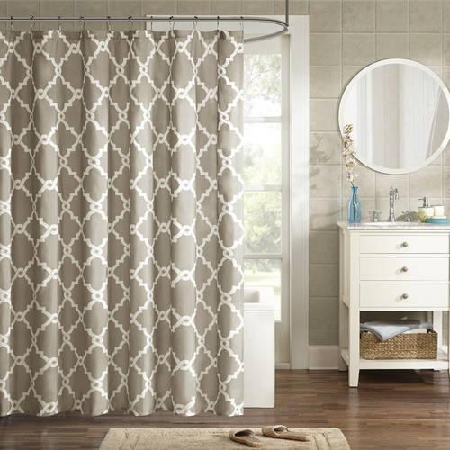 Home Essence Becker Printed Shower Curtain