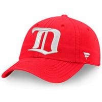 Detroit Red Wings Fanatics Branded Vintage Fundamental Adjustable Hat - Red - OSFA